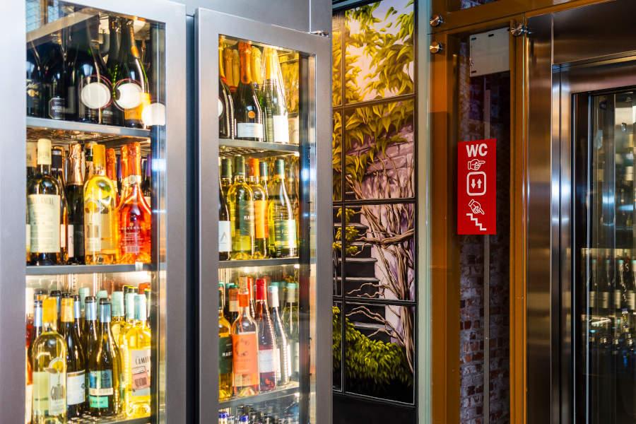 restaurante bilbao refrigerador