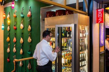 restaurante bilbao detalle interior atención