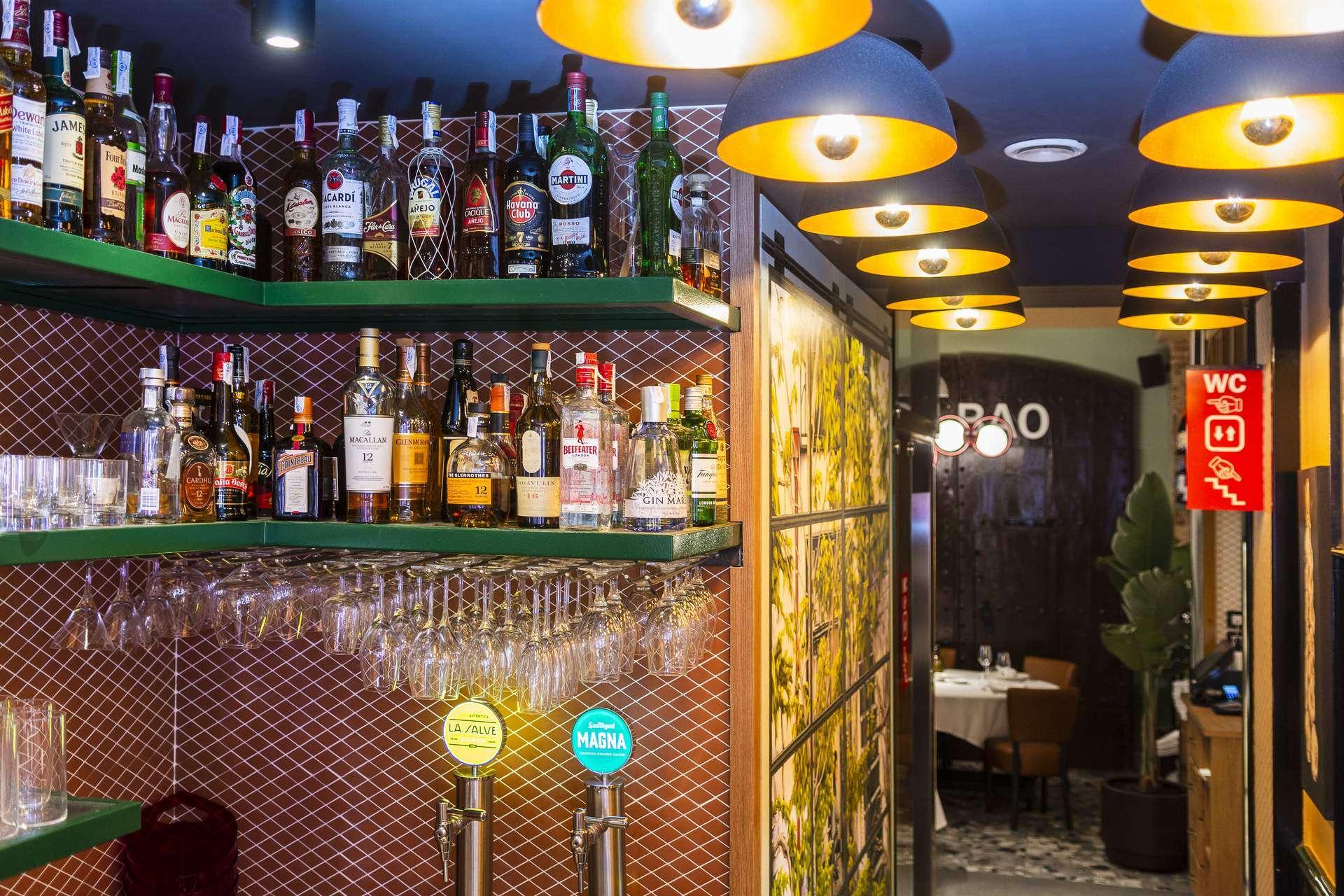 bar interior salon